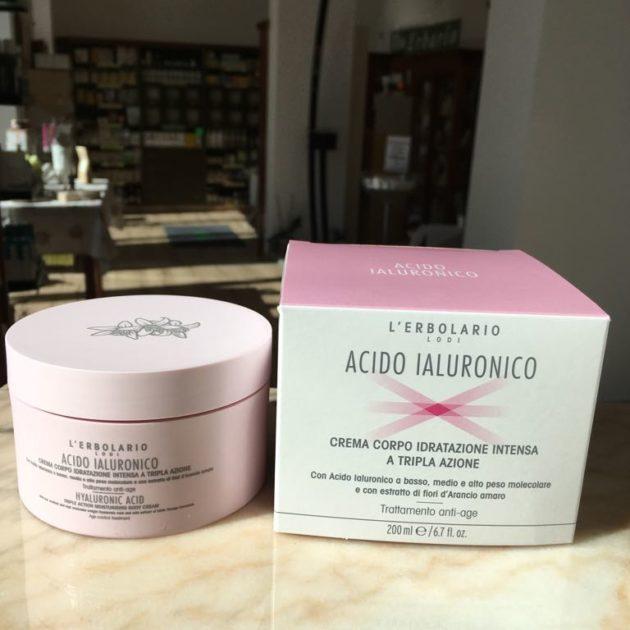 acido ialuronico crema corpo