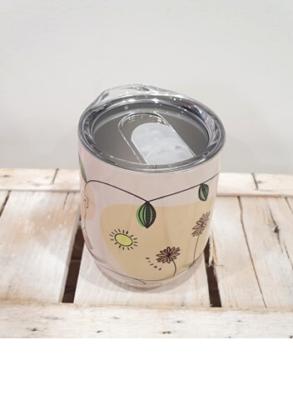 Mug Thermos in acciaio 330 ml, con coperchio easy drink, tiene le bevande in caldo-freddo per 4-8 ore, perfetta per filtro è ideale per tè e tisane.