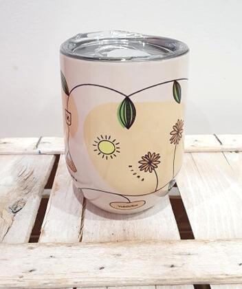 Mug Thermos in acciaio 330 ml, tiene le bevande in caldo, freddo per 4-8 ore, perfetta pee filtro è ideale per tè e tisane